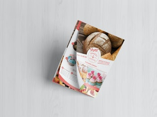 Thumbnail for Bakery & Cupcake Shop - Flyer Template