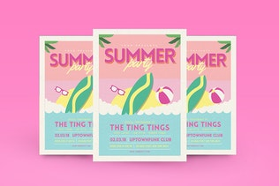 Thumbnail for summer beach flyer