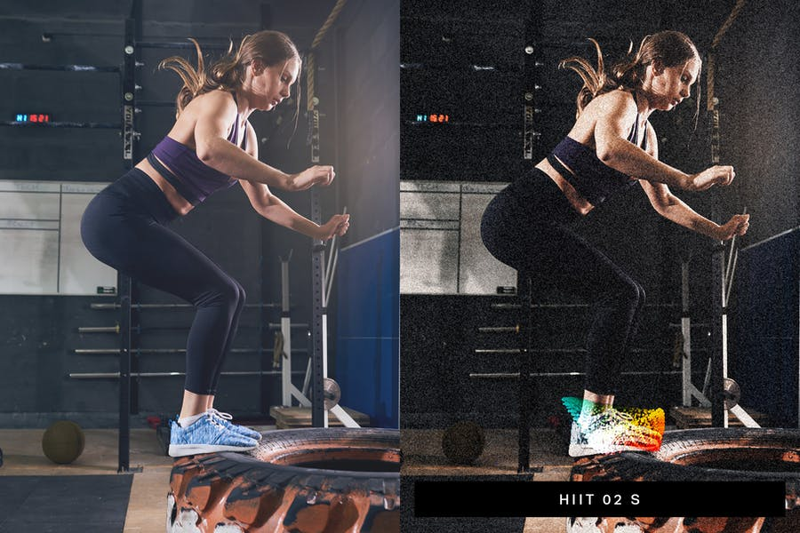 40 Fitness Lightroom Presets and LUTs - product preview 5