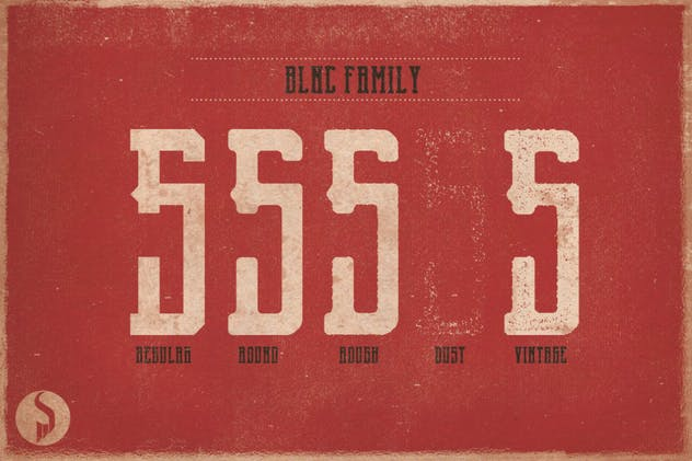 Blnc Family Typeface - product preview 1