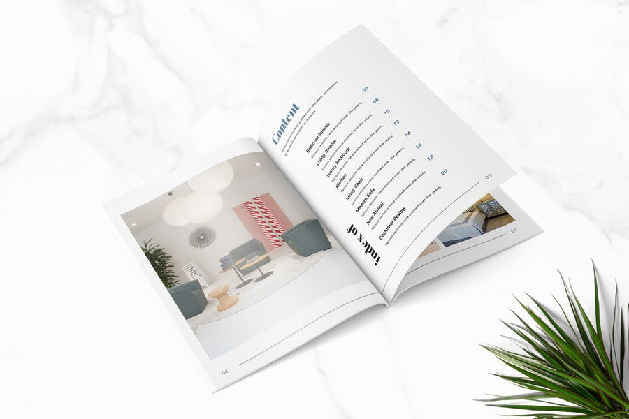 Lisa - Furniture Magazine Template - product preview 1