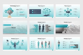 Thumbnail for Business Plan Infographic Templates (KEY)