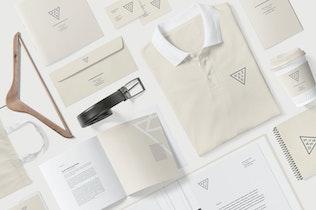 Thumbnail for Corporate Branding Mockup Scenes