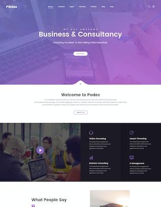 Thumbnail for Podes | Responsive Multi-Purpose PSD Template