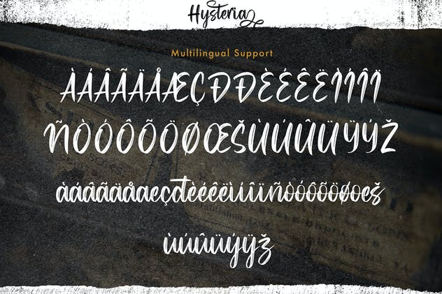 Hysteria - Stylish Script Font - product preview 3