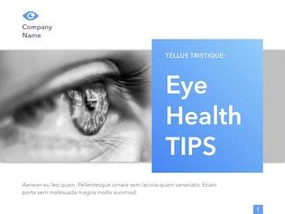 Thumbnail for Eye Health Keynote Template