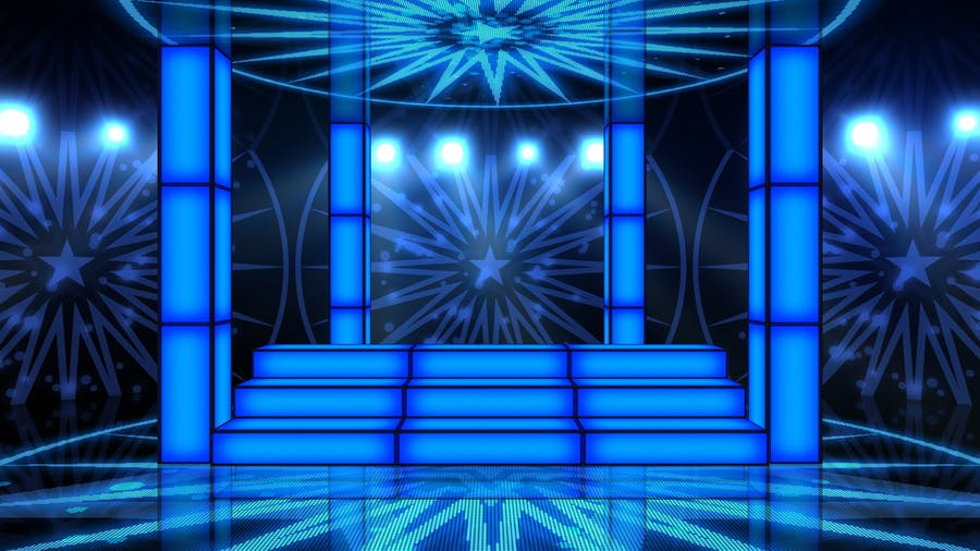 Party Stage Backgrounds - product preview 2