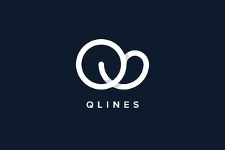 Thumbnail for Q Lines Logo Template