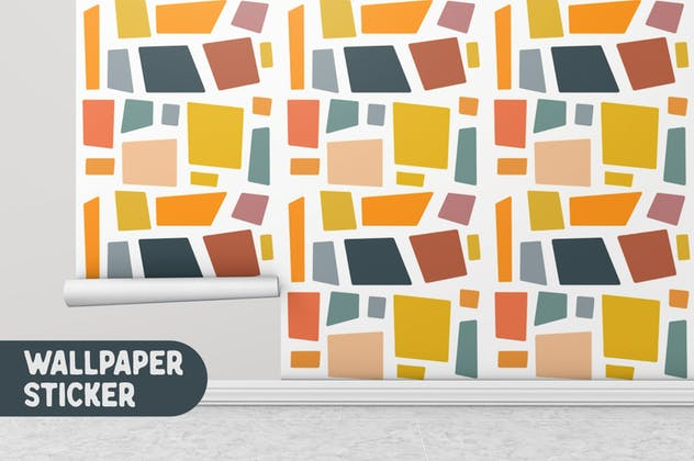 Abstract Shape Retro Patterns - product preview 8