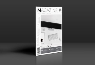 Thumbnail for Creative Magazine Cover Template
