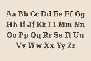 Miniatura para Adena Slab Con serifa Familia tipográfica