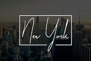 Thumbnail for Paradise | Signature Typeface