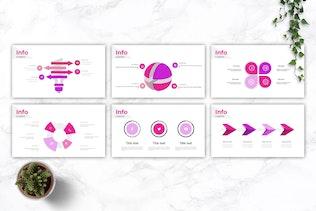 Thumbnail for LIBERO - Company Profile Google Slides Template