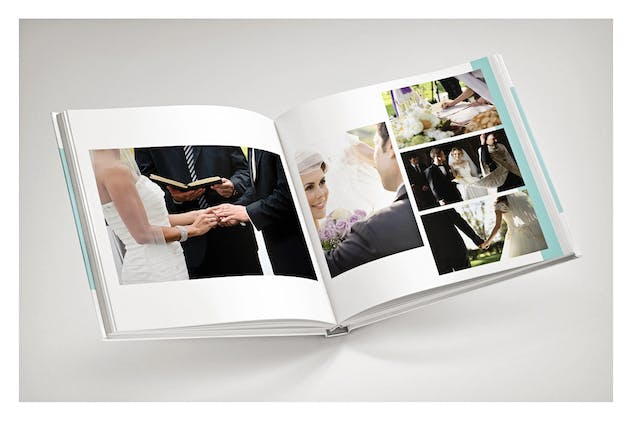 PSD - Minimalist Wedding Album - product preview 4