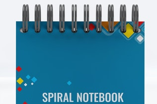 Thumbnail for Spiral Notebook Mock-Up v.1