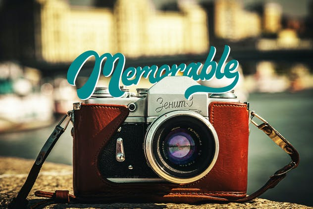 Maimoonde - Modern Vintage Typeface Font - product preview 4
