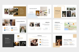 Thumbnail for Logua : Wedding Planner and Organizer Powerpoint