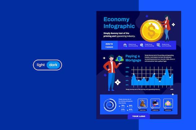 Infographic Chart Elements for Finance V.03