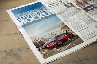 Thumbnail for Newspaper Advertise Mockup v2