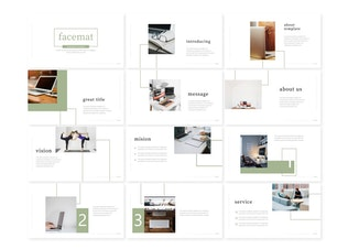Facemate - Google Slide Template