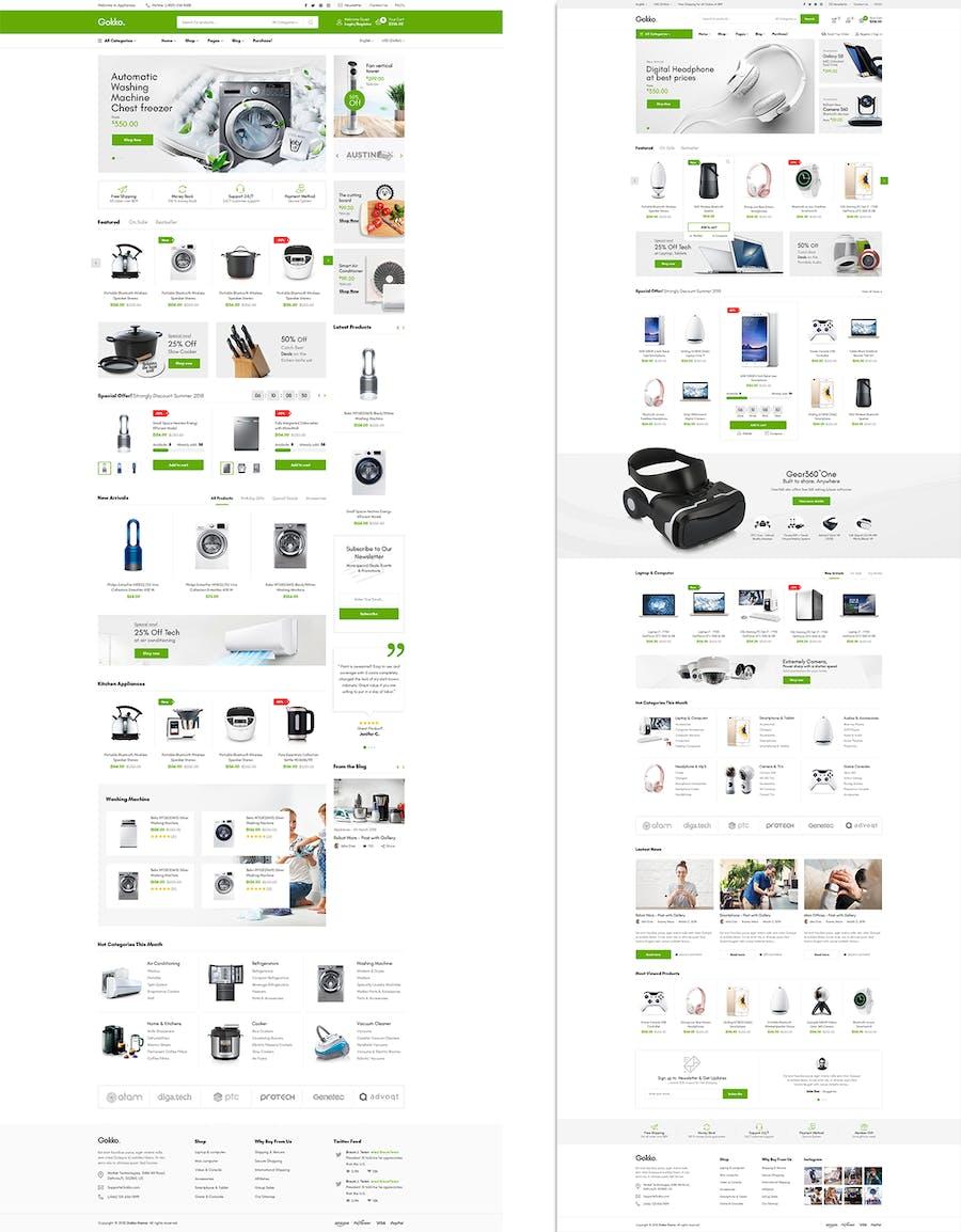 Gokko - Responsive Prestashop 1.7 Theme - product preview 2