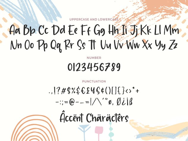 Chalkier YH - Brush & Display Font - product preview 6
