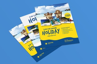 Thumbnail for Holiday Travel Flyer