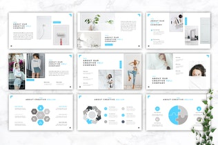 Thumbnail for Heliup - Creative Google Slides Template