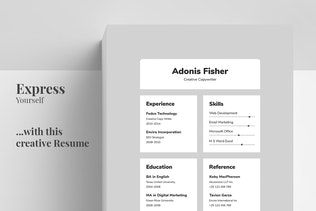 Thumbnail for Resume/CV - Adonis
