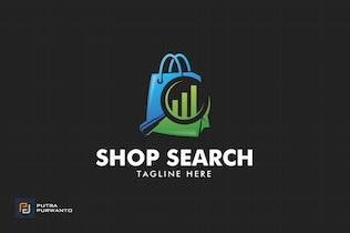 Thumbnail for Shop Search - Logo Template