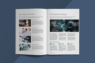 Thumbnail for Business Brochure Template