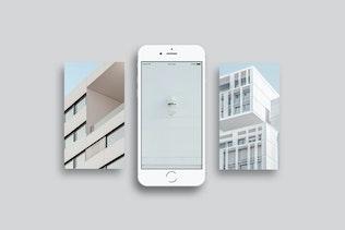 Thumbnail for iPhone Mockups Minimal Version