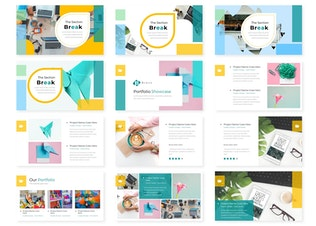 Thumbnail for Bravo - Powerpoint Template