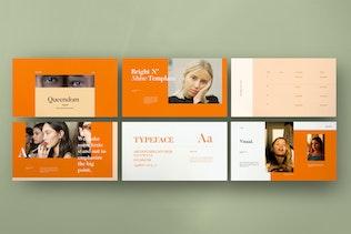 Thumbnail for QUEENDOM - Lookbook Design Powerpoint