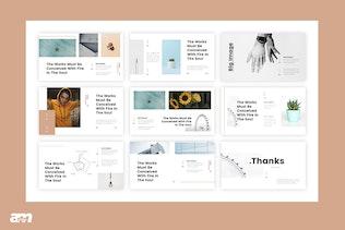 Thumbnail for Belan Minimal Google Slides