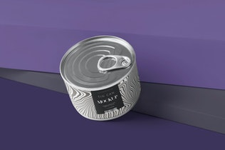 Thumbnail for Small Food Tin Can Mockups