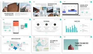 Миниатюра для Arquitec - Архитектура Шаблон слайдов Google