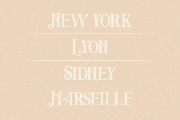 Angwie Serif Art Font - product preview 2