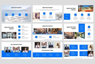 Thumbnail for Aline - Hotel Keynote Template