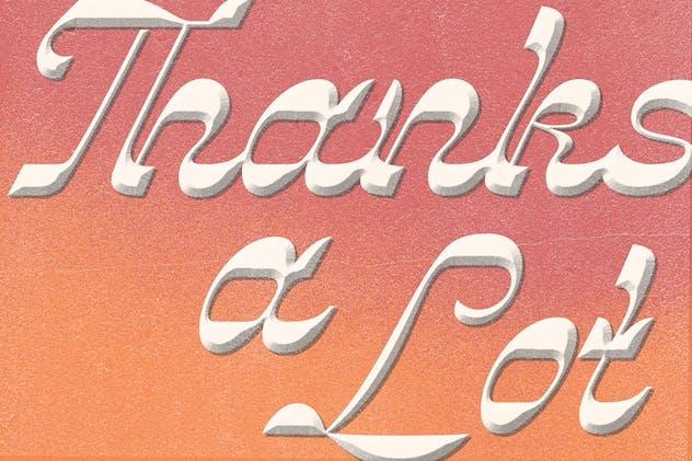 Vindale - Vintage Script Typeface - product preview 8