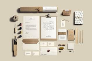 Thumbnail for Art & Craft Stationery Branding Mockup