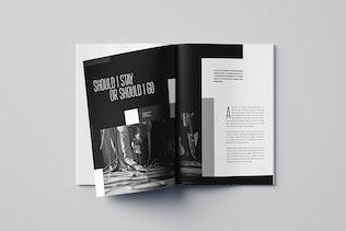 Thumbnail for Modern Black & White Music Magazine