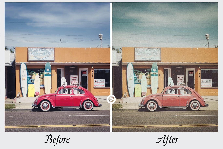 老式胶片复古色调-Lightroom预设手机版lr预设插图6