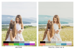 Thumbnail for 50 Bohemian Lightroom Presets and LUTs