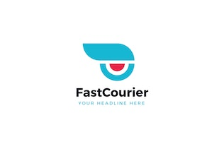Fast Courier Logo Template