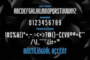 Миниатюра для Graydon - Современный шрифт с С засечками дкой