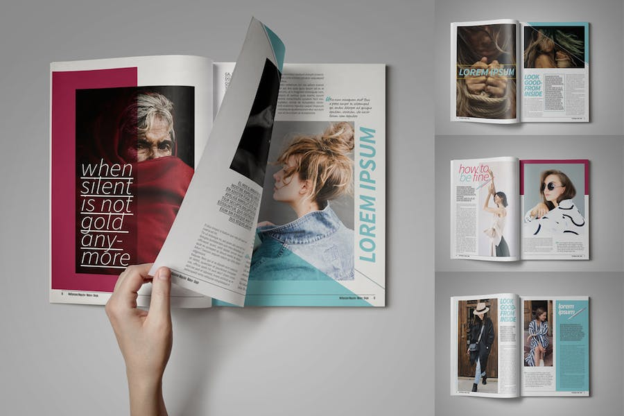 Multipurpose Magazine Template - product preview 1