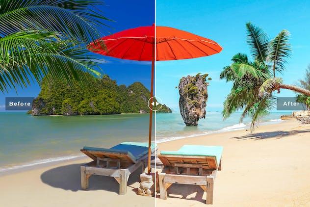 Phuket Mobile & Desktop Lightroom Presets - product preview 1