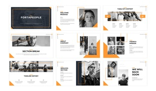 Thumbnail for Fortapeople - Business Powepoint Template