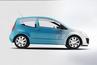 Thumbnail for City Car Branding Mock-up